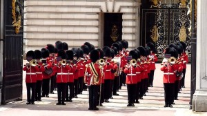 Changing Guard at Buckingham Palace