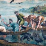 Raphael Cartoon, The Miraculous Draught of Fishes