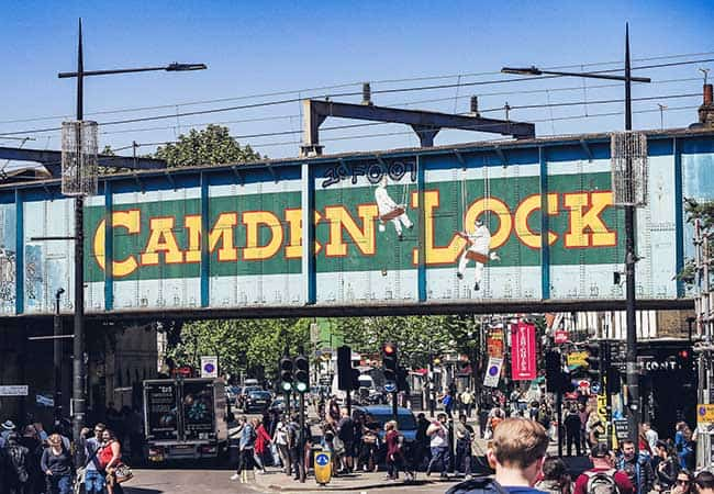 Camden Stables Market is the largest market in London
