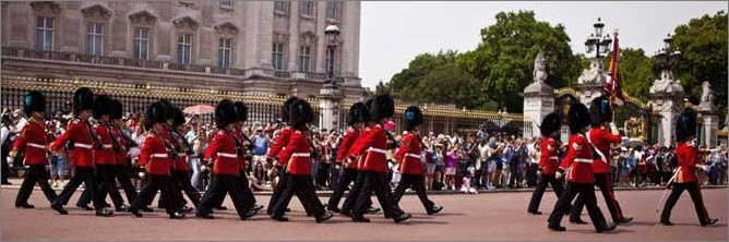 Changing Guards-Visit London