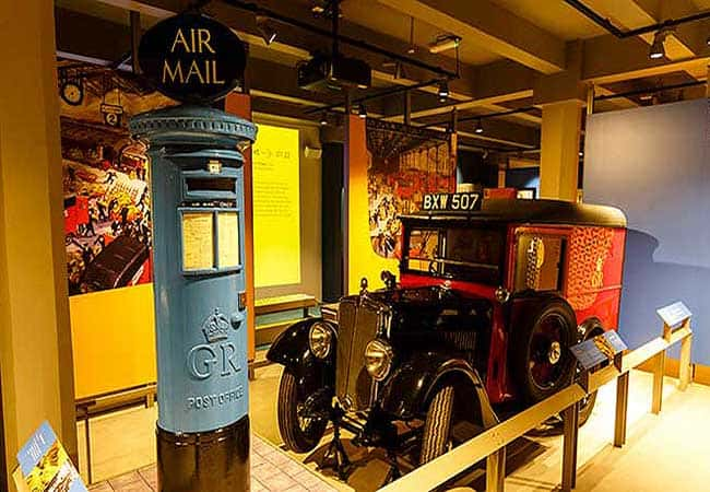 Family-Days-Out-The-Postal-Museum-free days out with kids