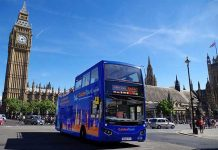 Free WiFi Open Bus Tour London