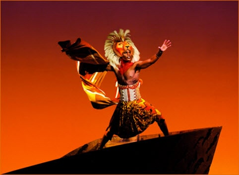 Lion King Shows Lyceum Theatre
