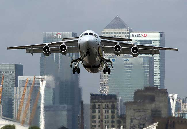 London LCY Airport