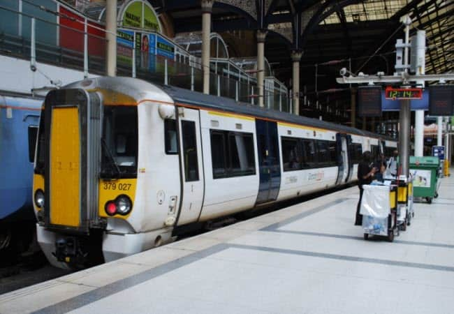 Stansted Express Train from Liverpool Street Station