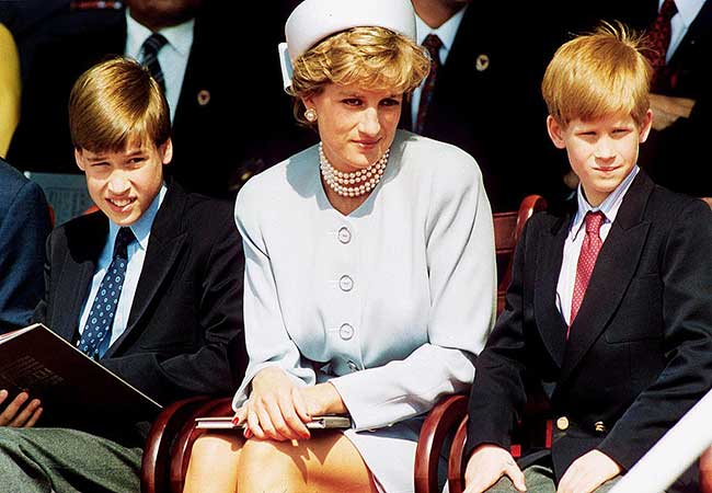 princess-diana-william-harry - Kensington Palace