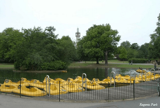 Changing Rooms In Regents Park