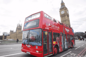 Getting around London- London Red Buses