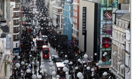 Oxford Street Shops london