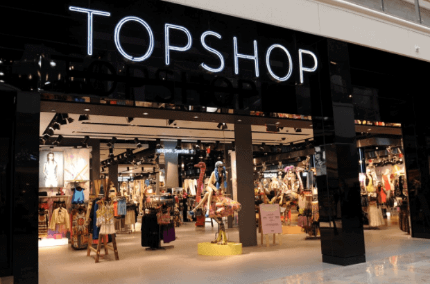 top shop in oxford Street Fashion Shops