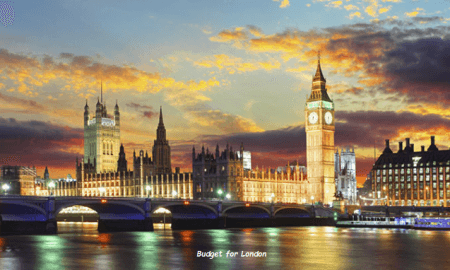 Budget for London