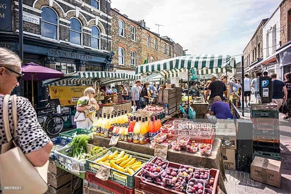 Best markets in London